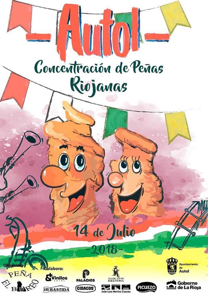 Photo of La concentración de peñas riojanas se celebra este sábado en Autol