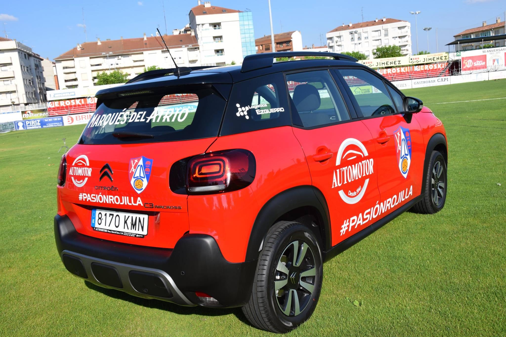 Photo of La profesionalización del CD Calahorra, sobre ruedas… de un Citroën C3