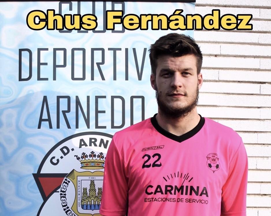Photo of El CD Arnedo ficha a Chus Fernández.