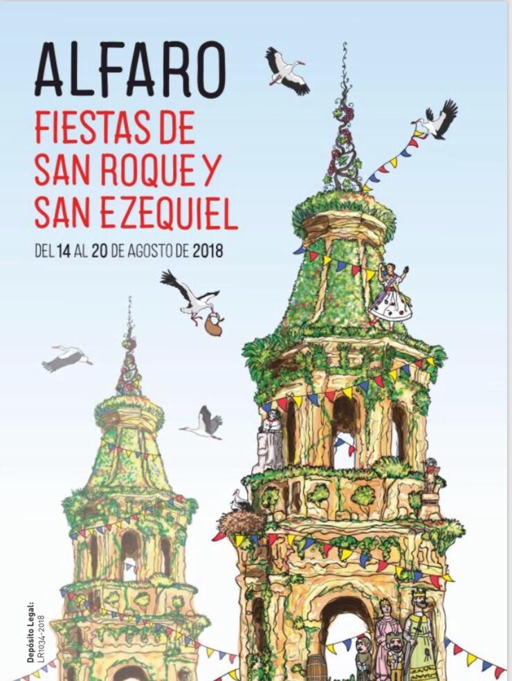 Photo of Programa oficial de fiestas de Alfaro.
