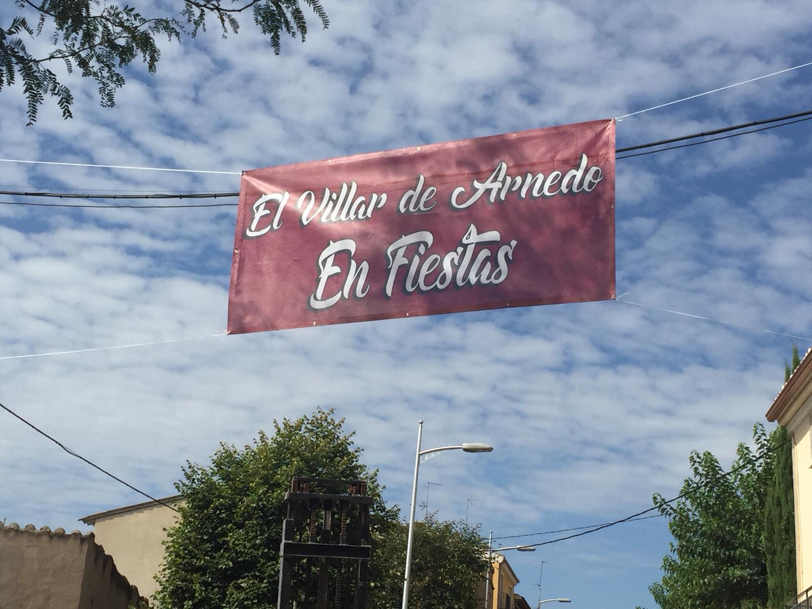 Photo of El Villar de Arnedo celebra sus fiestas patronales. (Programa de fiestas)