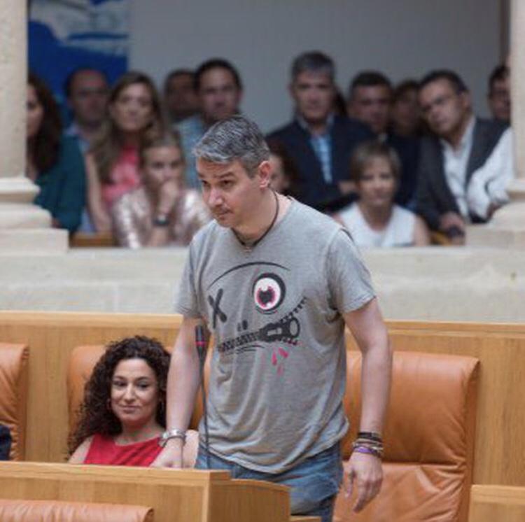 Photo of Germán Cantabrana y Ana Carmen Sainz depositan en un juzgado las cantidades reclamadas por Podemos para poder concurrir a las primarias.