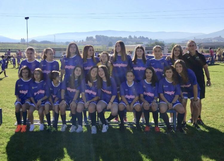 Photo of Un ejemplo de valor, ilusión, constancia y lucha hecha fútbol: CEF Nájera Telepizza.