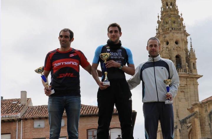 Photo of Borja Llorente Torres, atleta del club Calahorra Triatlón; campeón de La Rioja de Duatlón de Media Distancia.