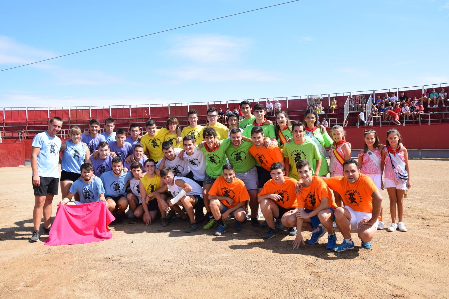 Photo of Rincón de Soto pone el broche a sus fiestas con los juegos con vaquillas y el concurso de calderetes