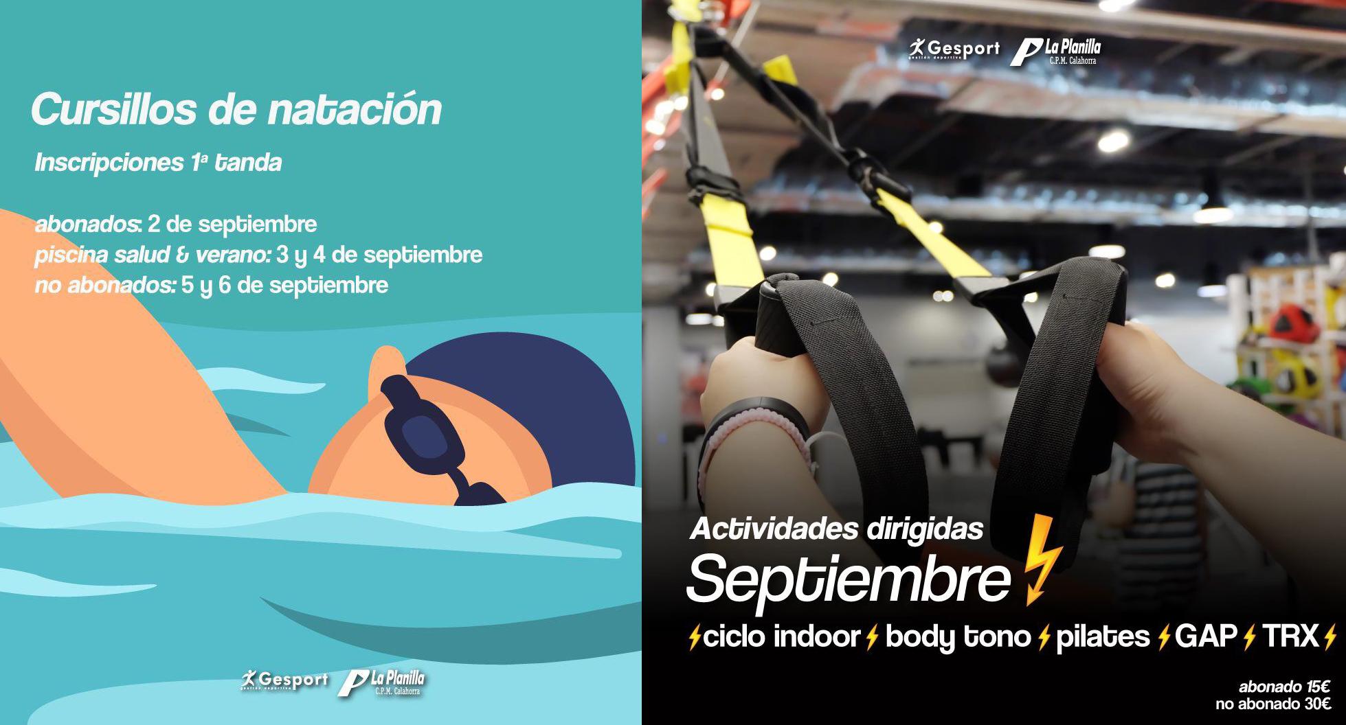 Photo of Cursos de natación y un completo programa deportivo para Laplanilla GeSport de Calahorra