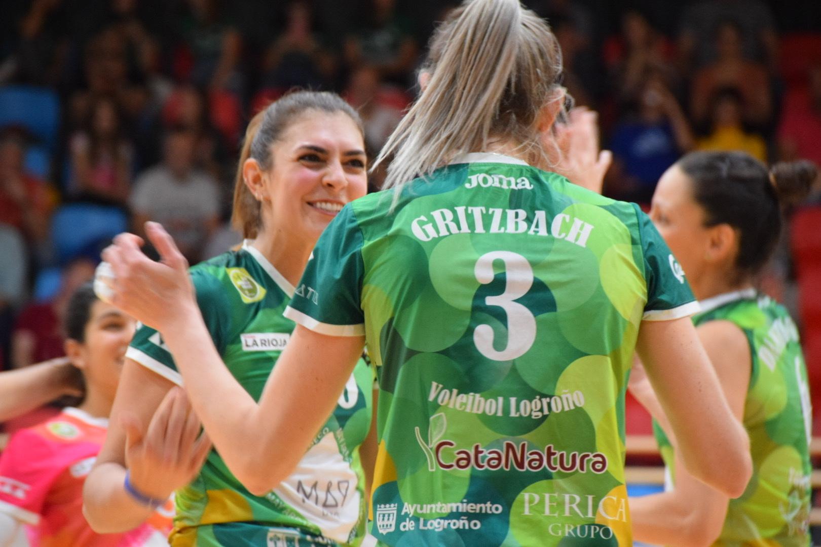 Photo of Victoria del MayDeco Voleibol Logroño que se mantiene como líder en solitario