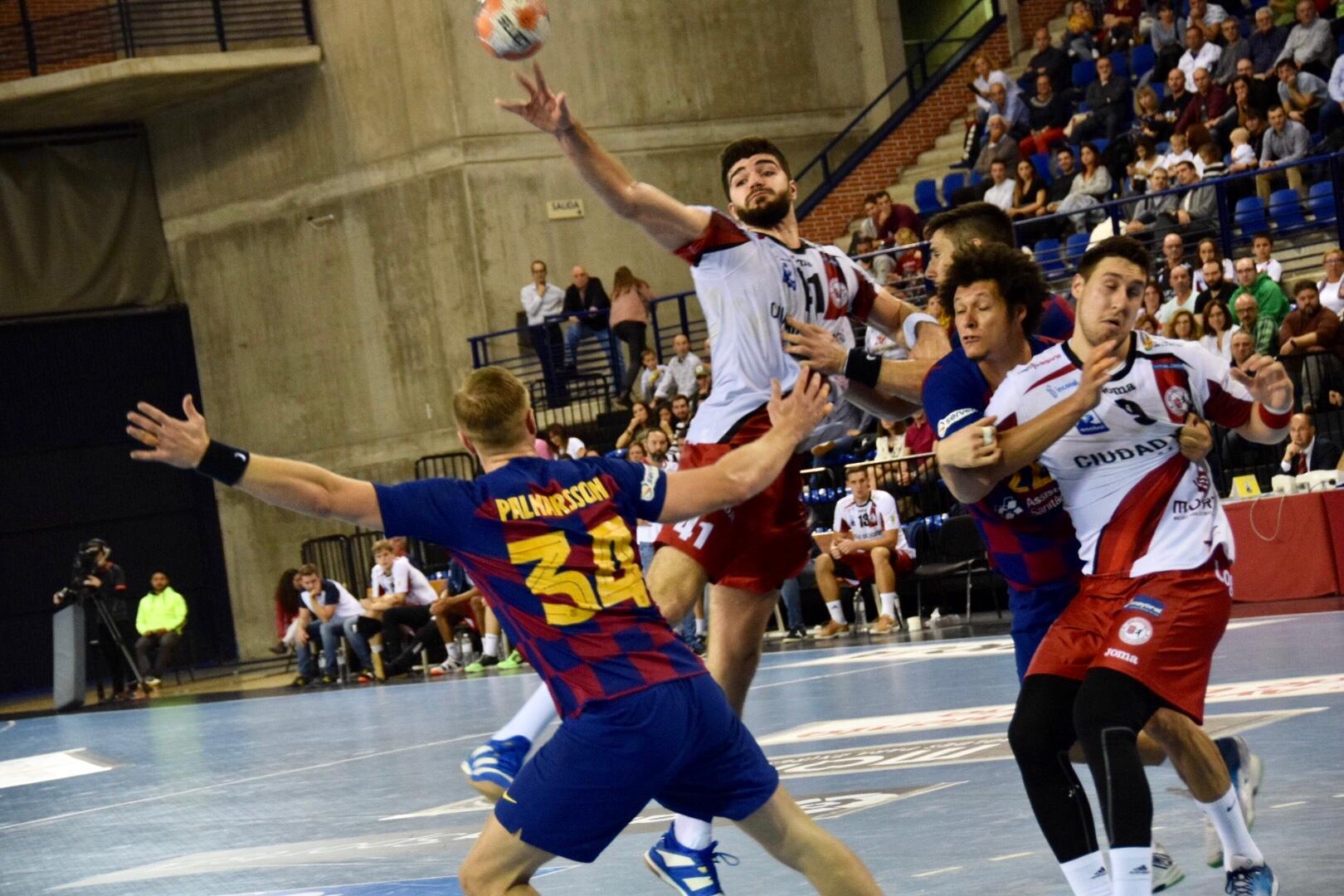 Photo of El BM Logroño rompe la lógica durante algo más de cuarenta minutos