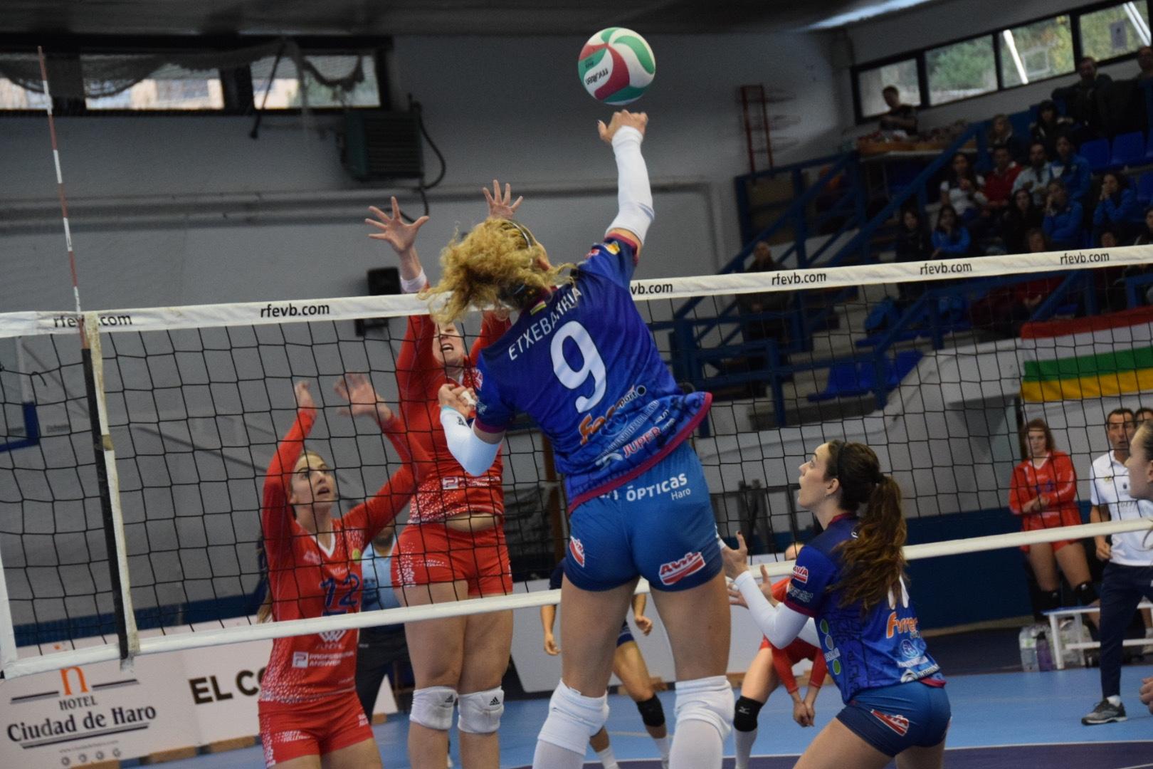 Photo of Victorias para Voleibol Logroño y OSACC Haro