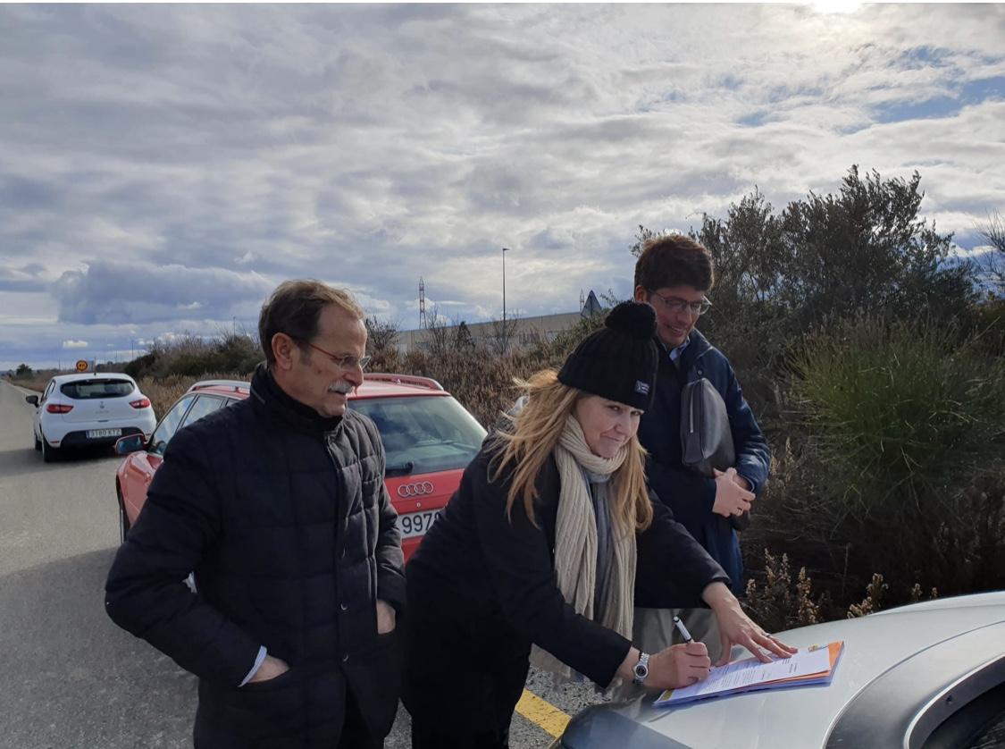 Photo of SEPES ha suscrito esta mañana el acta de replanteo e inicio de las obras de reordenación de los accesos a dos polígonos de Calahorra