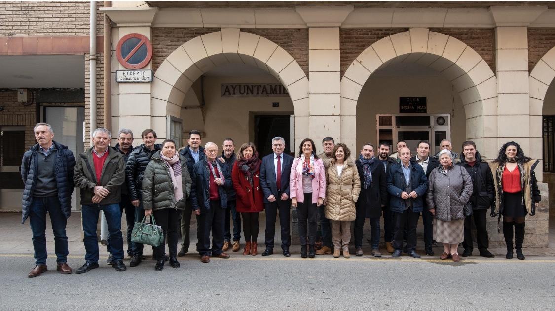 Photo of El Ejecutivo se reúne con trece alcaldes y alcaldesas de localidades de la comarca de Logroño, Calahorra y Arnedo