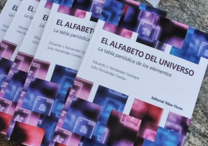 """Photo of Eduardo J. Fernandez Garbayo y Julio Fernández publican """"El alfabeto del universo"""""""