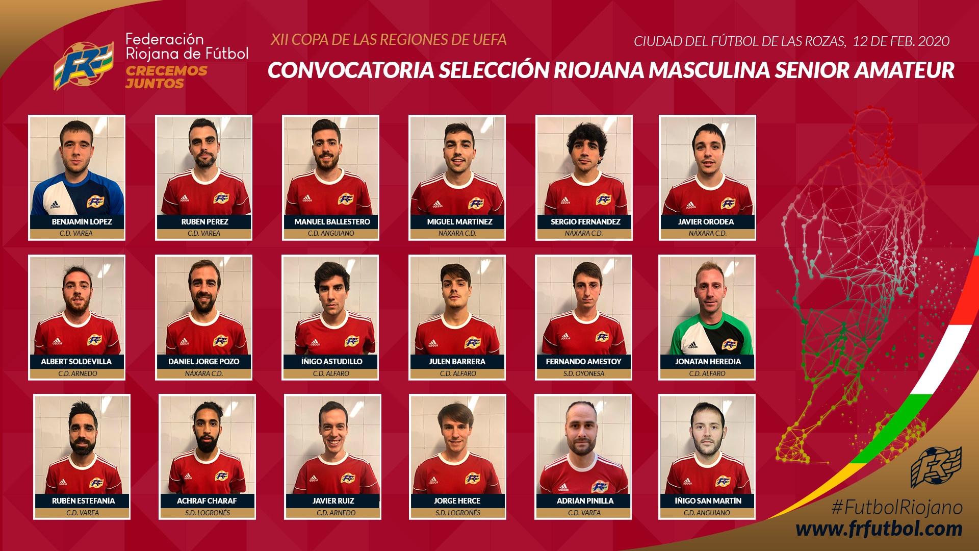 Photo of La Rioja buscará este miércoles las semifinales de la Copa de las regiones UEFA