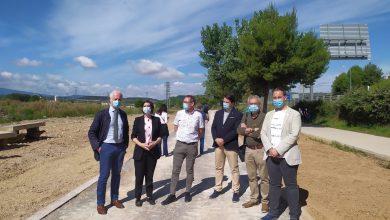 Photo of El alcalde de Logroño y la delegada del Gobierno visitan las obras de acondicionamiento del Camino de Santiago